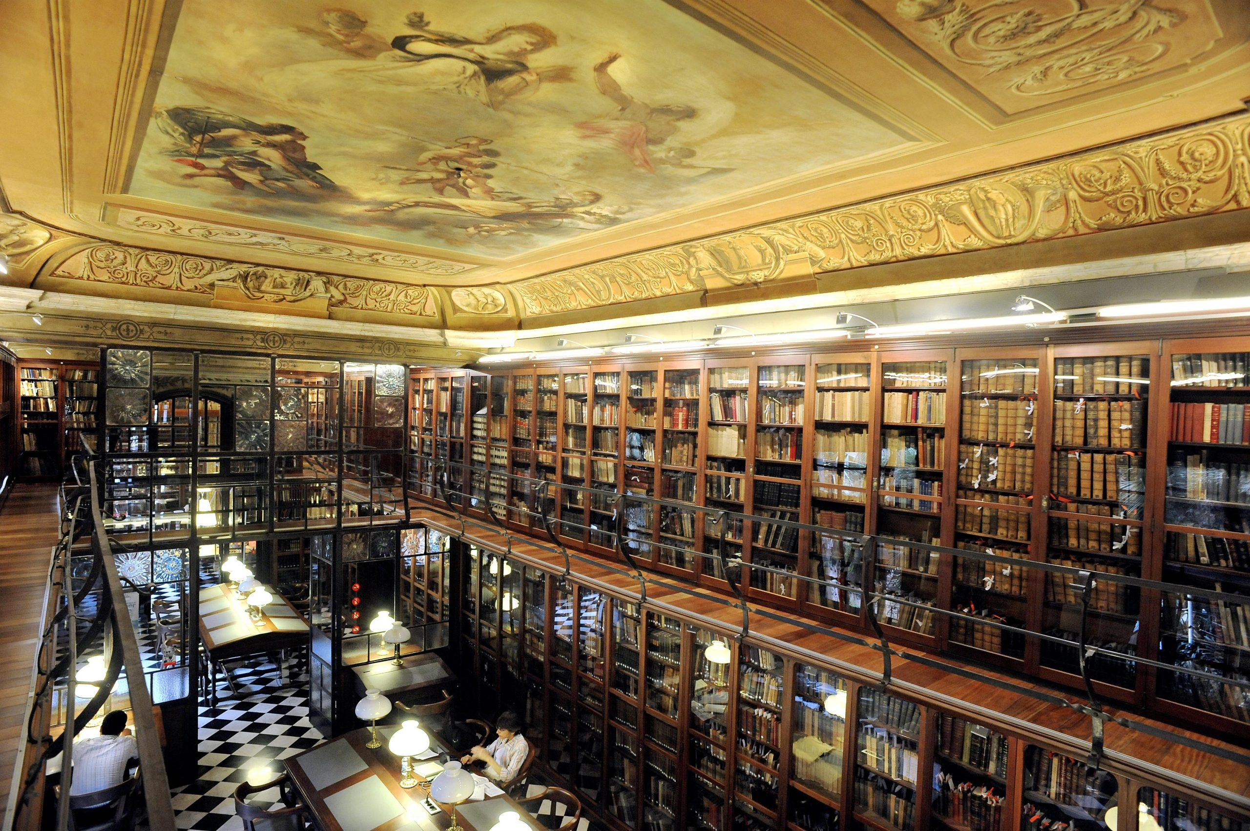 Biblioteca de l'Ateneu (àmbit Jujol)